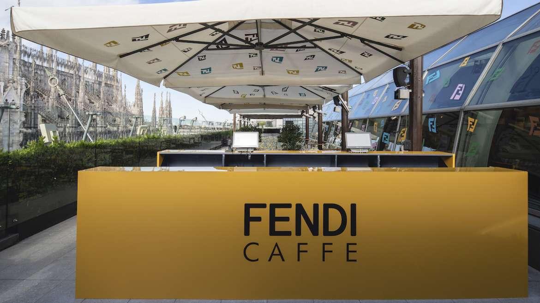 Milano, la terrazza della Rinascente si fa FENDI